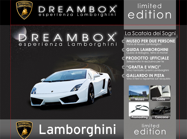 Packaging - Dreambox Lamborghini - 2011