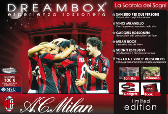 Packaging Dreambox - Milan Edition - 2012