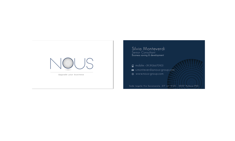 Nous - Business Card - 2014