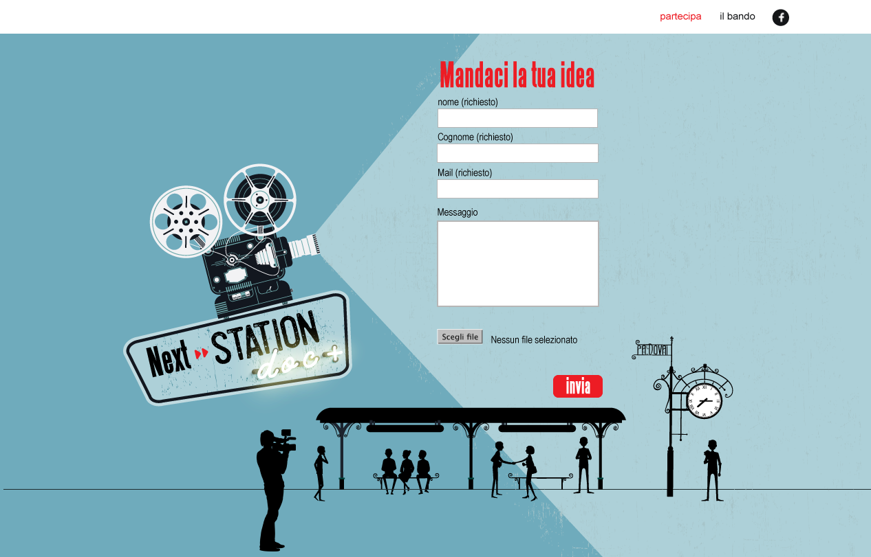 realizzailtuocorto.it/next-station-movie - landing page -2017