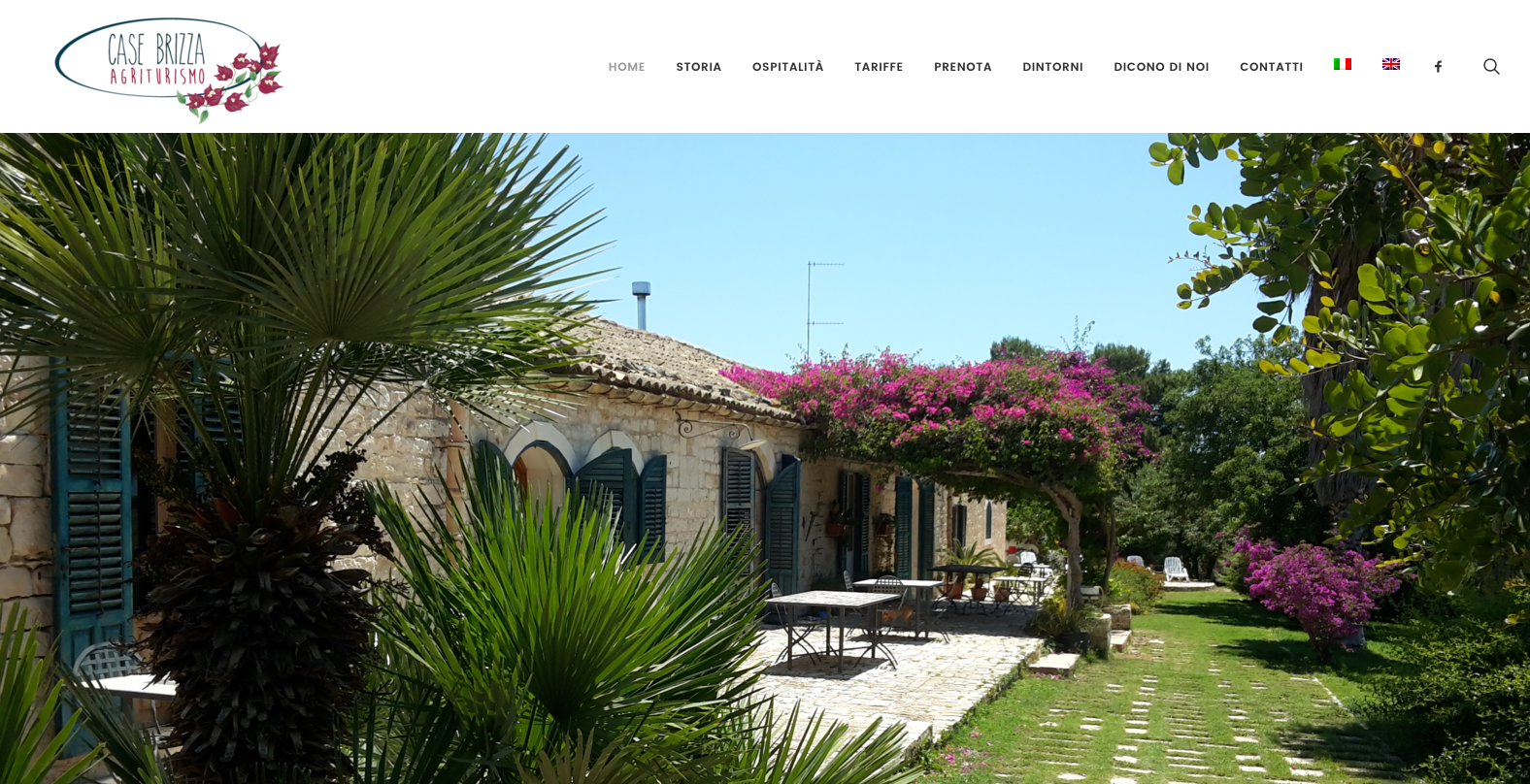 www.agriturismocasebrizza.com wp-based website (2017)